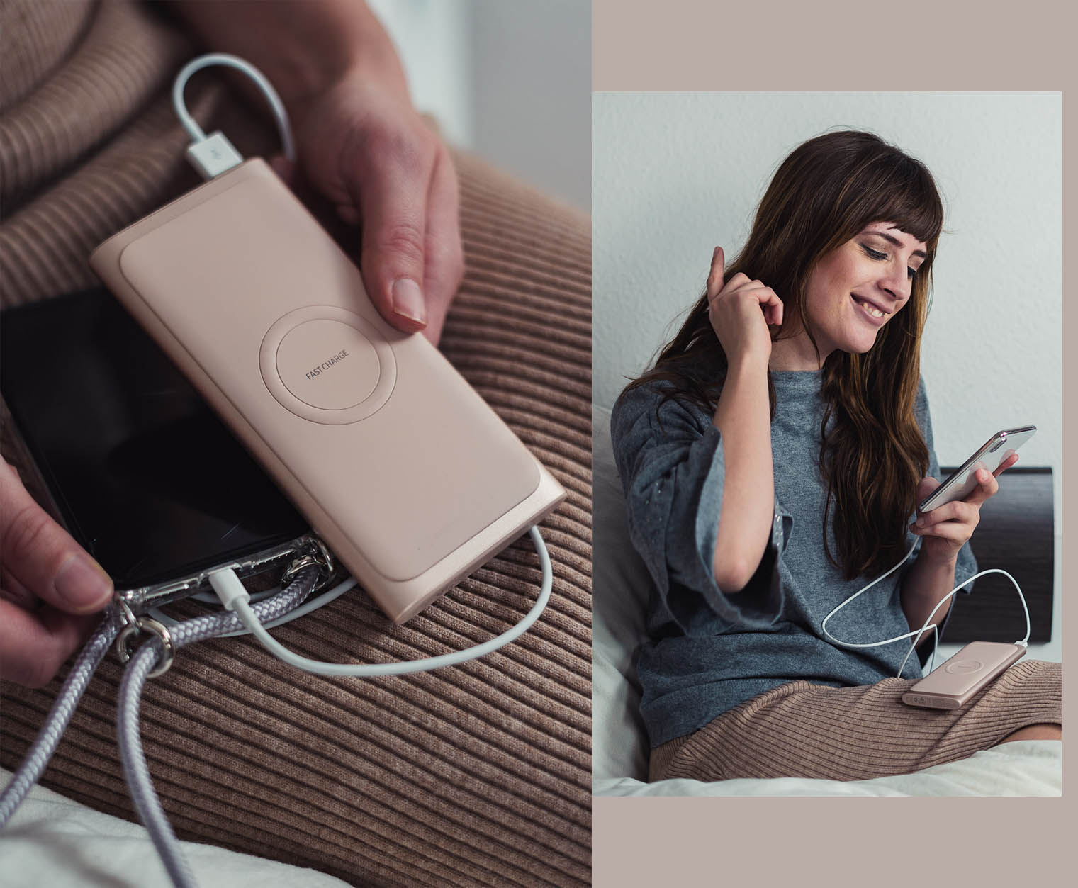 rosa Powerbank