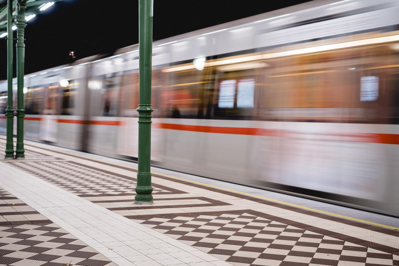 U-Bahn Station in Wien