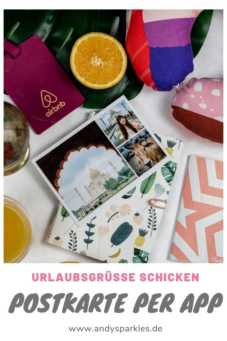 Postkarte per App