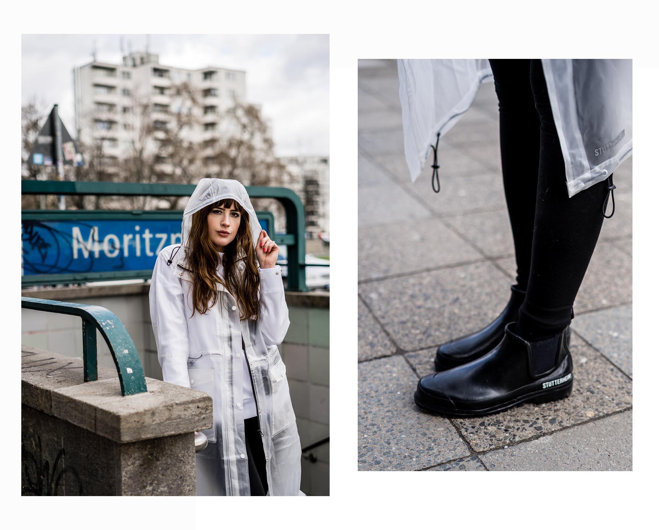 Outfit-Ideen für Sonne und Regen: April-Wetter