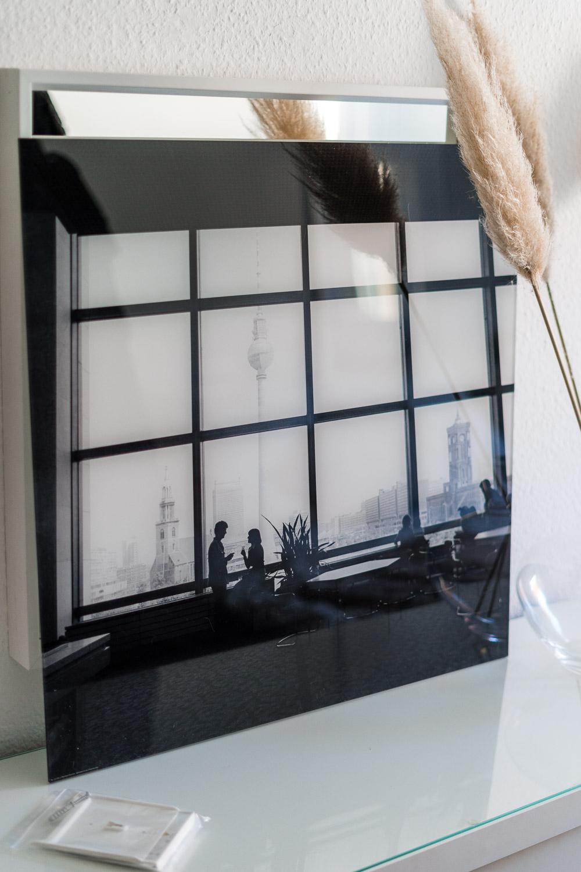 Berlin Skyline Acrylglasbild