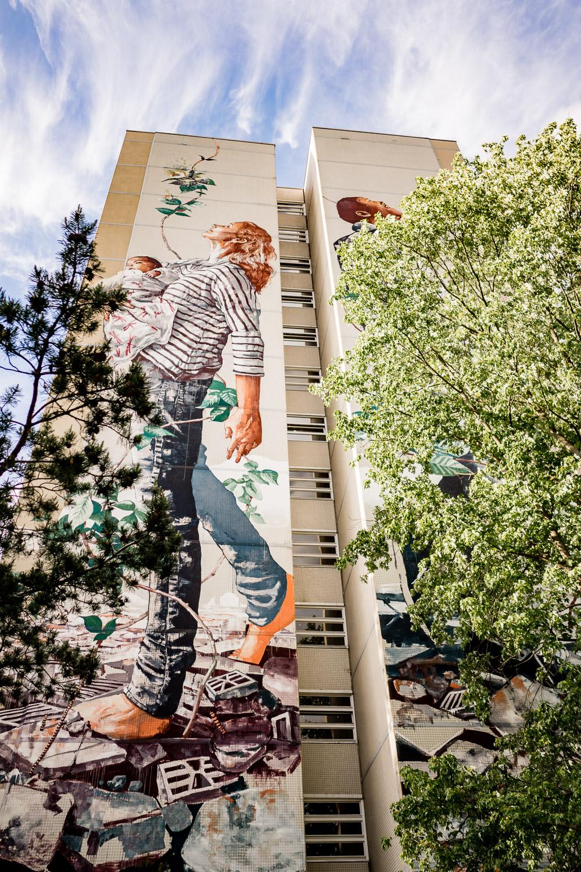 Mural von Fintan Magee