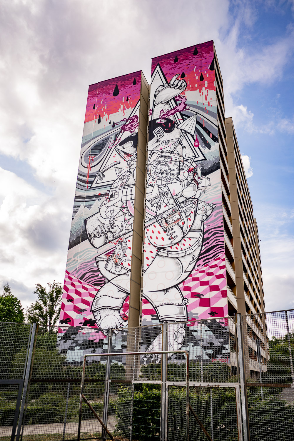 Mural von How and Nosm