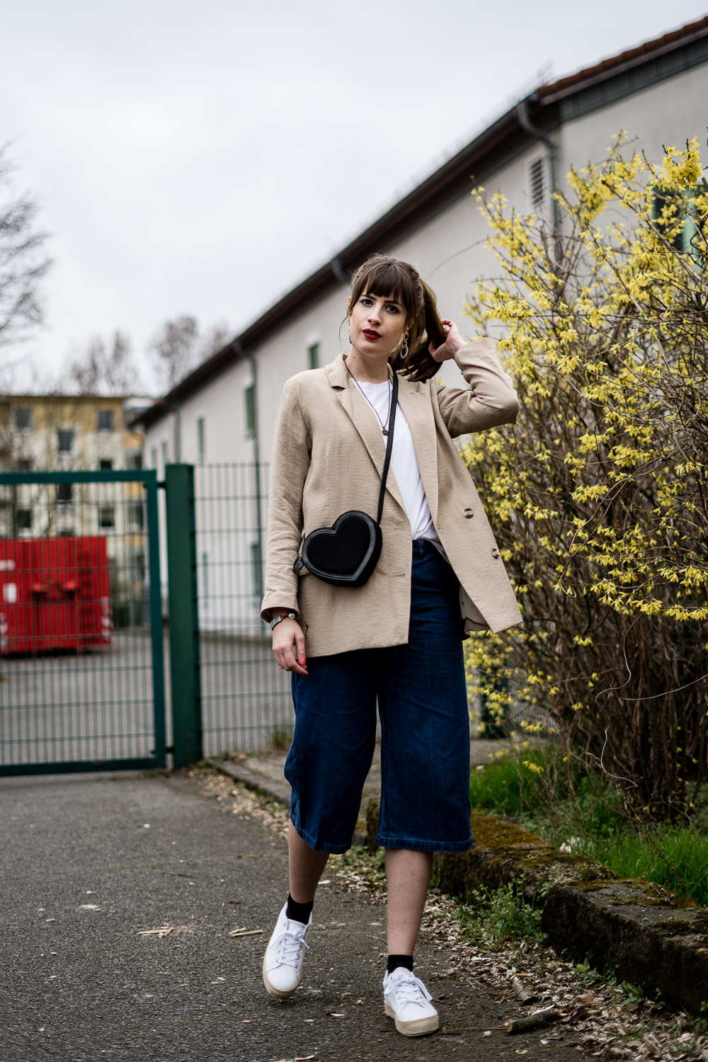 Jeans Culotte Outfit