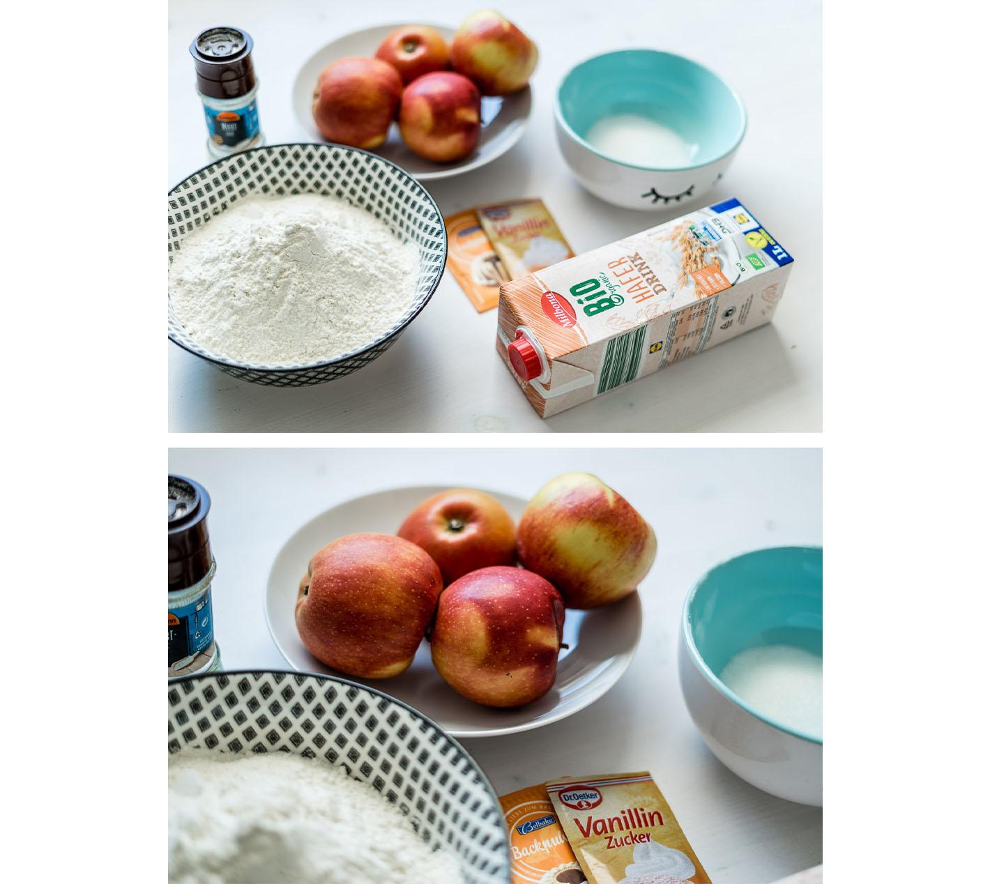 vegane Ofenpfannkuchen