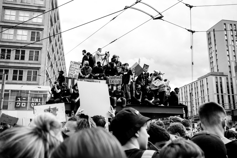 Silent Demo Alexanderplatz