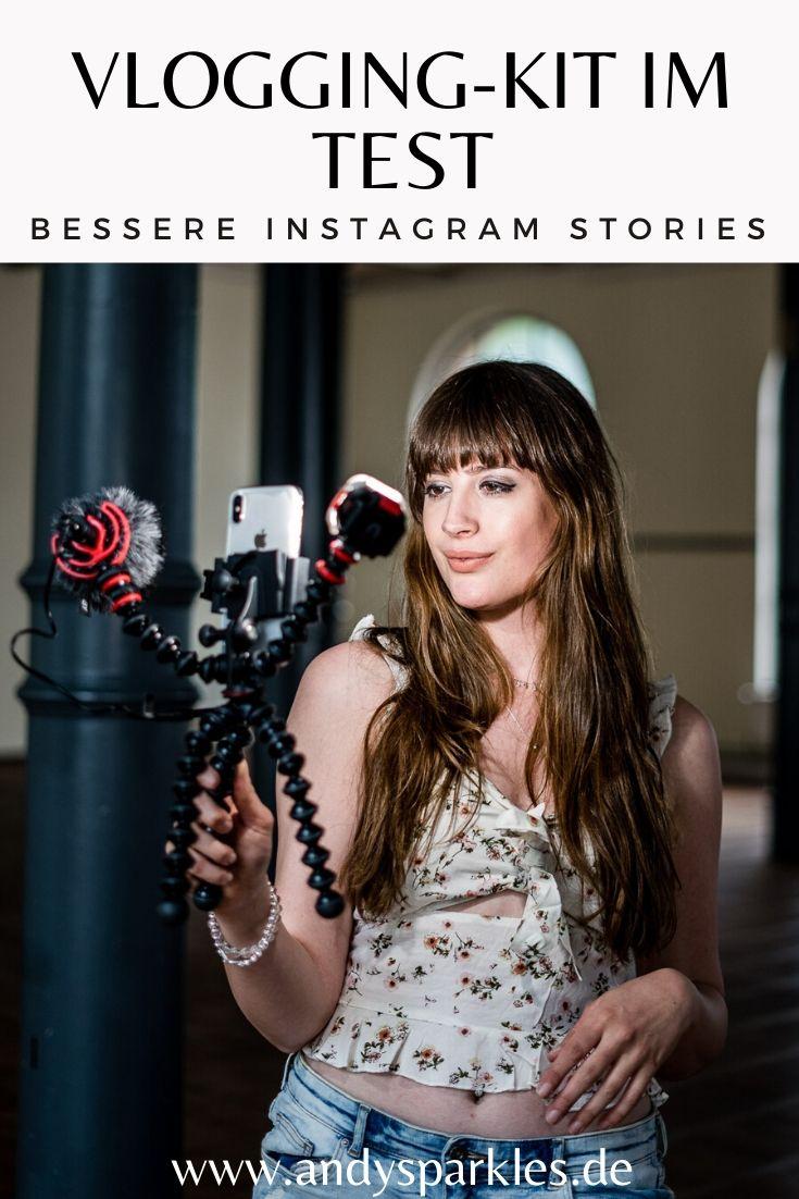 Bessere Stories für Instagram drehen