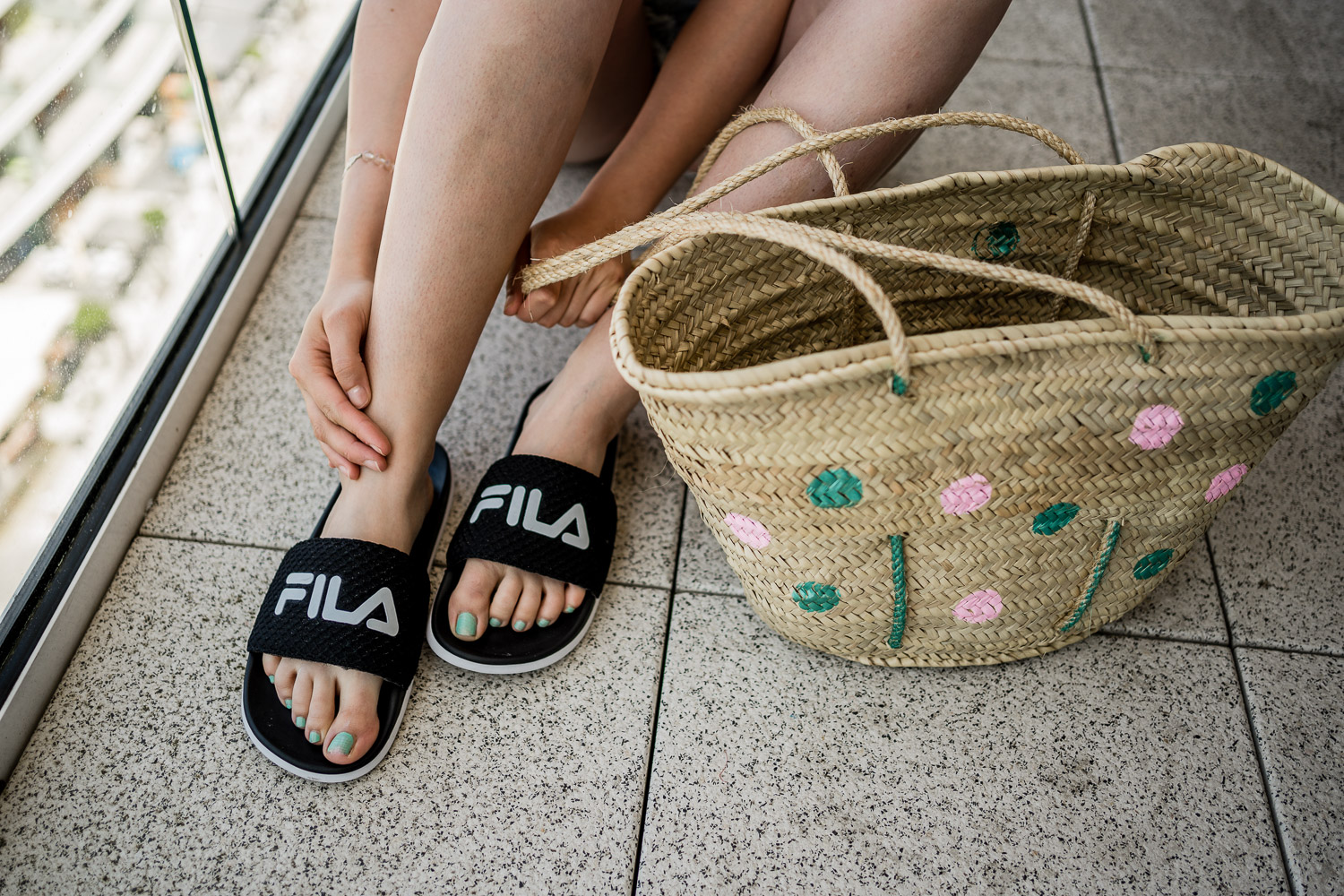 FILA Pool Slides