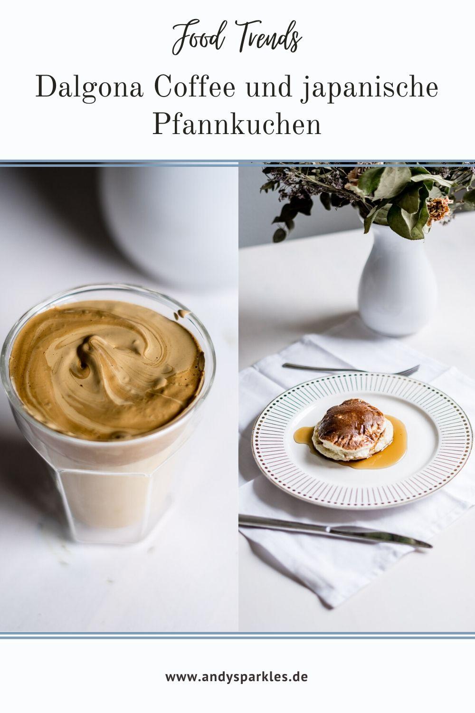 Dalgona Coffee und japanische Pfannkuchen