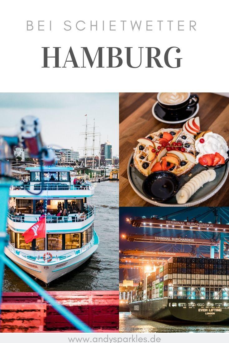 Wochenende in Hamburg bei Schietwetter