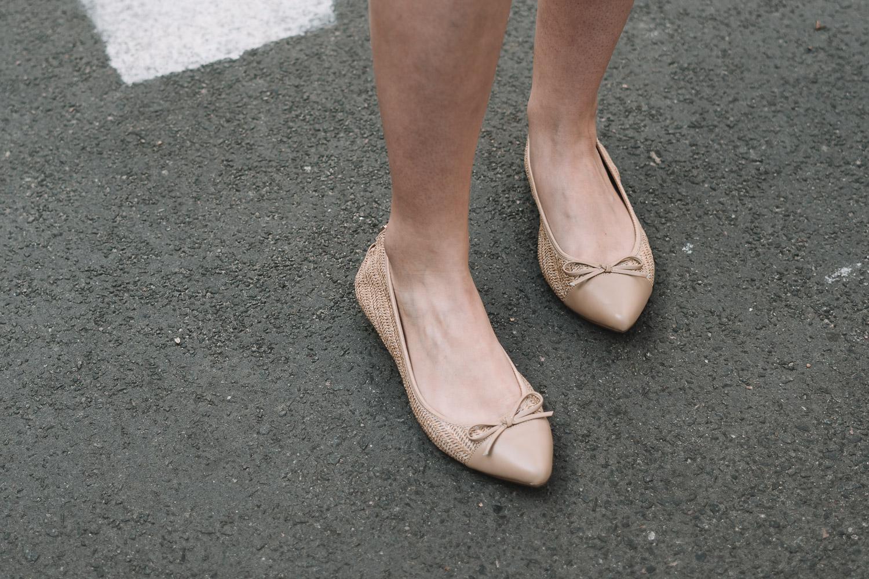 Ballerinas beige