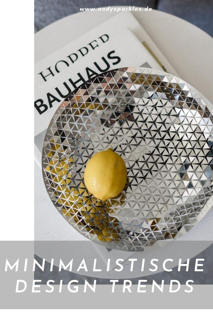 Minimalistische Design Trends aus Deutschland