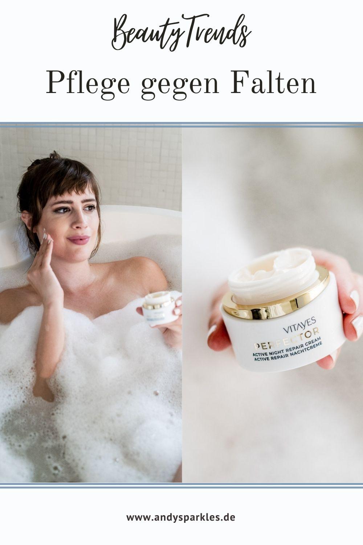 Pflege gegen Falten - Produkte von Vitayes - wie funktioniert die Instant Ageback Creme - Anti-Aging Pflege - Beautyblog andysparkles