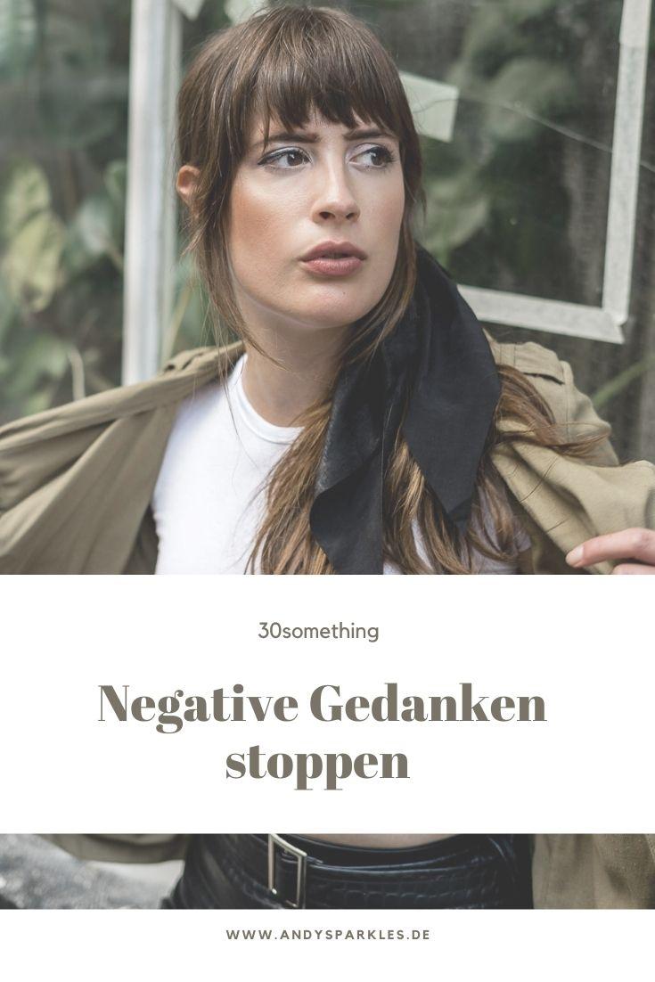 Negative Gedanken stoppen