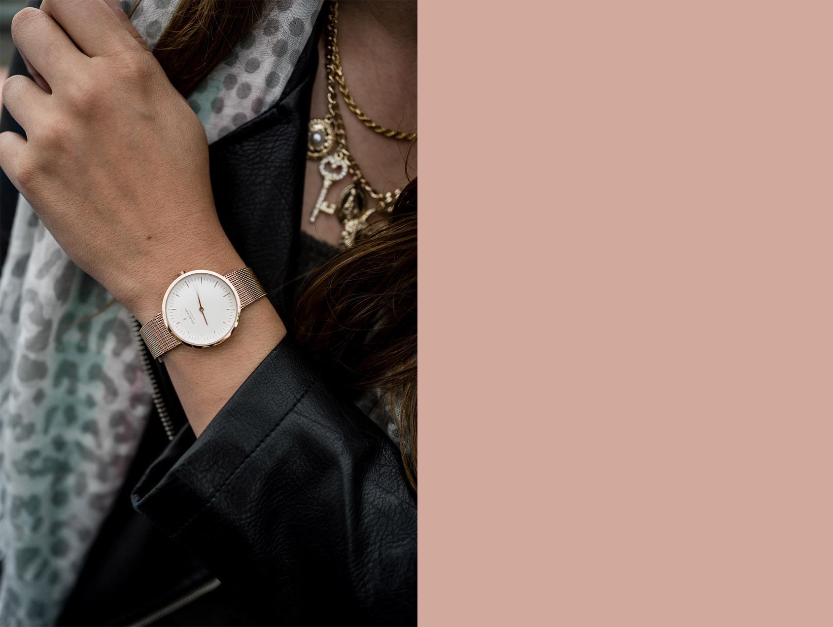 nfinity Roségold Uhr von Nordgreen