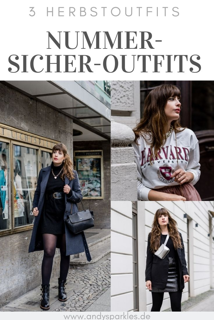 Nummer-Sicher-Outfits