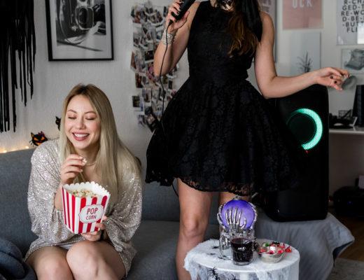 Karaoke singen an Halloween