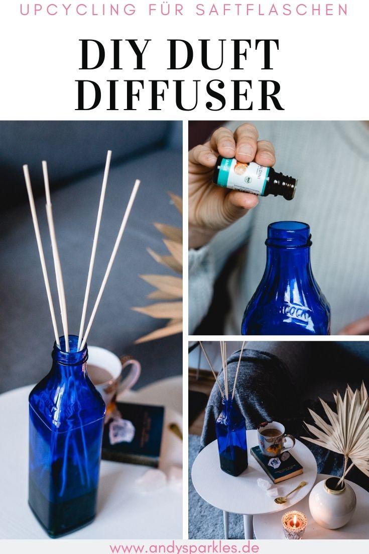 Upcycling für Juice Flaschen