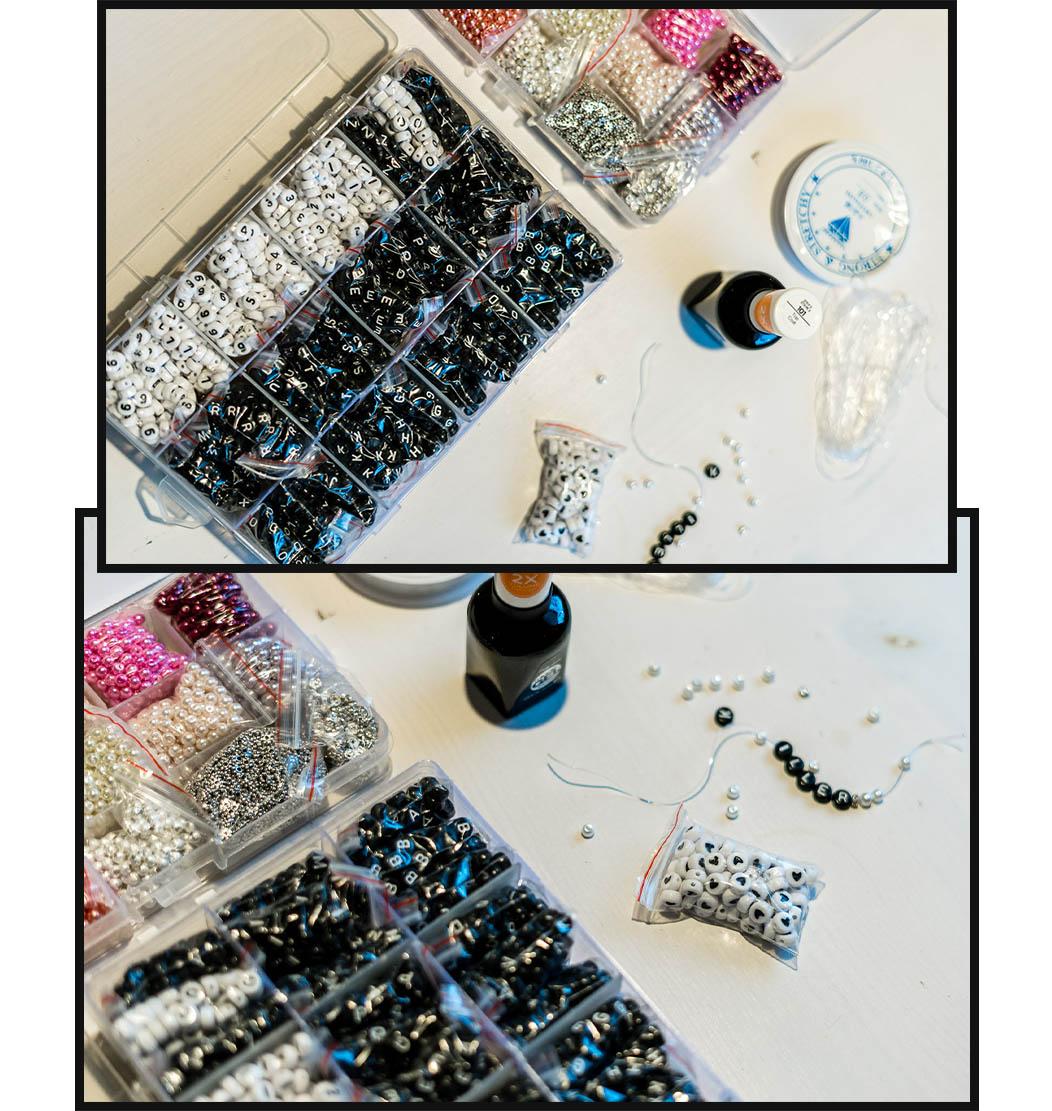 DIY Armband aus Perlen