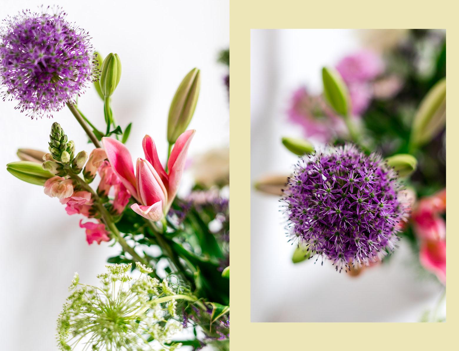 Gemütliche Deko Ideen mit Kerzen und Blumen