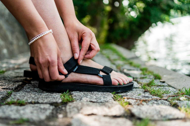 Sandalen für den Sommerurlaub