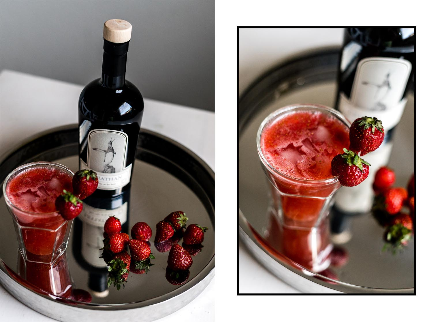 Sommer Longdrink mit Schwarzwald Gin