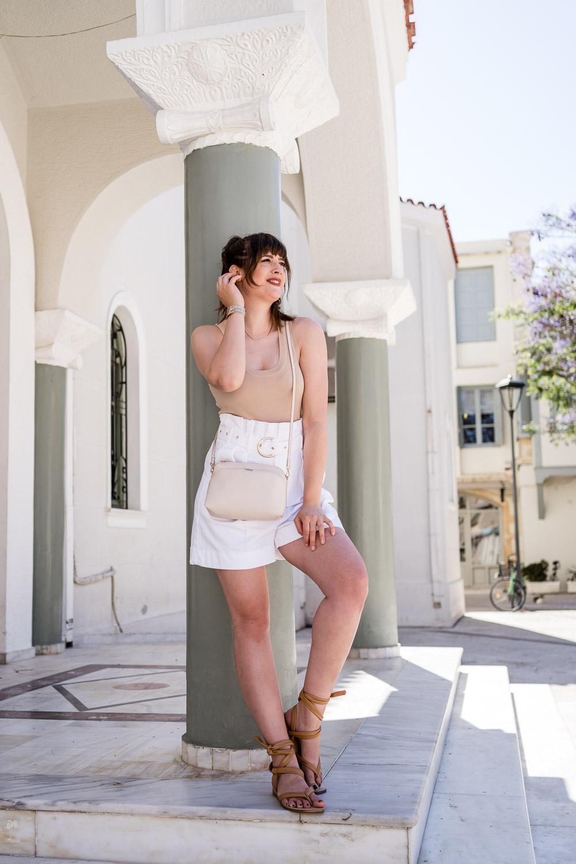 Weiß tragen im Sommer