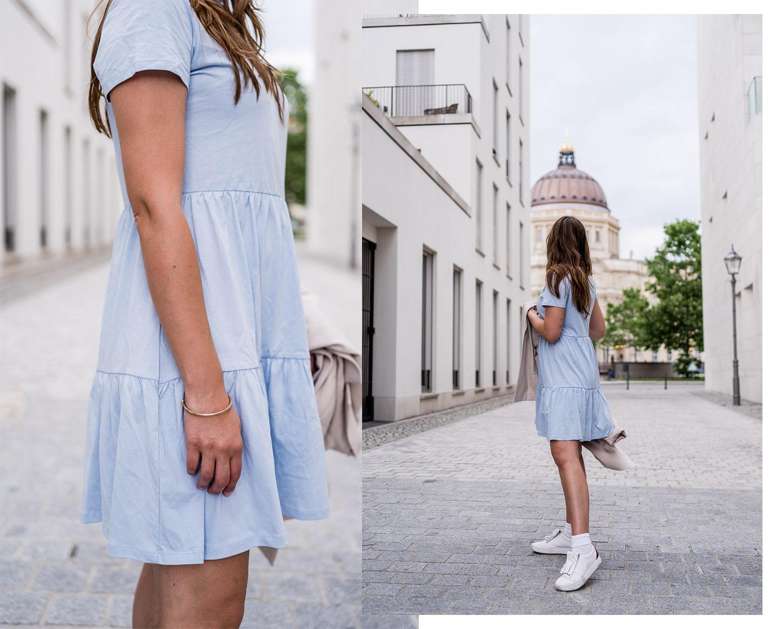 Outfit Babyblau