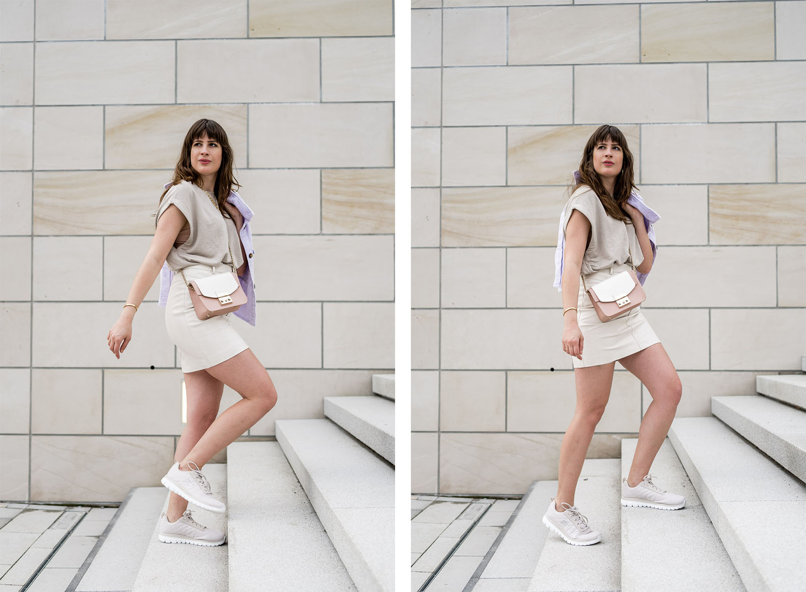 Casual Outfit Ideen in Beige