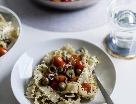 Schnelles Pasta Rezept mit Knoblauch