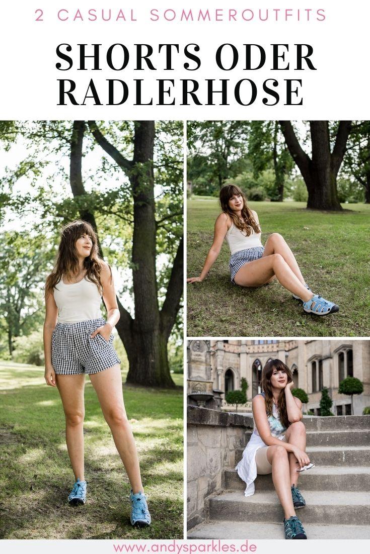 Shorts oder Radlerhose