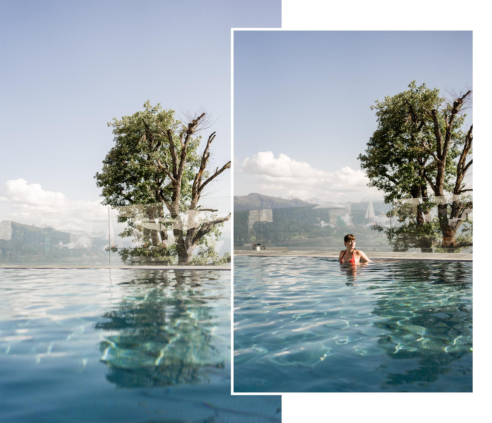 Pool im Tratterhof